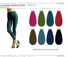 Oroblu All Colors Leggings 50, 50 DEN opaque, silky touch, 18 fashion colors