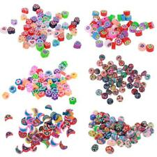 50pcs Vary Polymer Clay Spacer Beads Charm for Jewelry Making DIY Craft Findings
