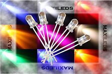 100x 5mm LED round very bright LEDs Resistor 5mm