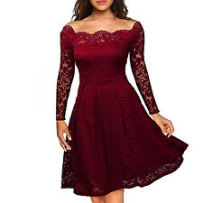 Robe Femme Sexy Lace Dress Women 50s 60s Rockabilly Swing Wedding Party Dress