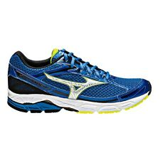 Mizuno Wave Equate MEN'S RUNNING SHOES, BLUE/SILVER - Size US 11.5, 12 Or 13