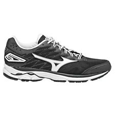 Mizuno Wave Rider-20 WOMEN'S RUNNING SHOES, BLACK/WHITE-Size US 6, 6.5, 7 Or 7.5