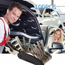 100PCS BIKE TOOL KIT BICYCLE REPAIR KIT CYCLE TOOL KIT MULTI REPAIR KIT SPANNER
