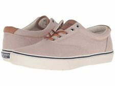 NEW SPERRY TOP SIDER STRIPER LL KHAKI CHAMBRAY MEN'S SNEAKERS BOAT SHOES 7.5 M