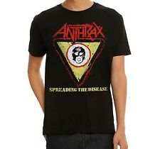 Anthrax SPREADING THE DISEASE T-Shirt NWT Authentic & Licensed