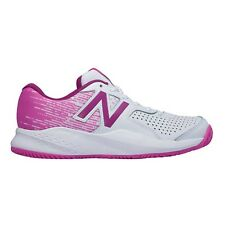 New Balance 696V3 WOMEN'S TENNIS SHOES, WHITE/PINK - Size US 6, 6.5, 7 Or 7.5