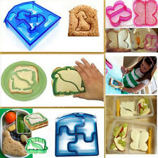 1PCS Lovely Kids Lunch Sandwich Cookies Bread Biscuit Food Cutter Mold Mould DIY