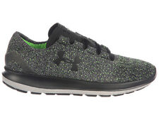 NEW MENS UNDER ARMOUR SLINGRIDE RUNNING SHOES TRAINERS BLACK / HYPER GREEN