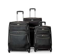 "SAMSONITE  21"" 25"" 29"" Black Starbound Upright Spinner Luggage Suitcase NEW F/S"