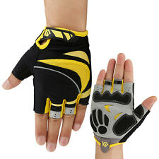 Gloves Finger Half Cycling Bike Gel Bicycle Xl M Short Sports New Motorcycle New