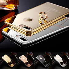 Luxury Aluminum Ultra-thin Mirror Metal Case For iPhone 7 6 6s Plus 5 5s SE 4 4s