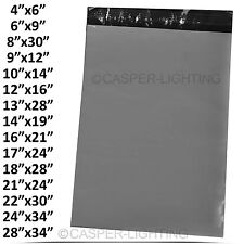 STRONG POLY MAILING BAG POSTAGE POSTAL BAGS QUALITY SELF SEAL GREY PLASTIC LOT