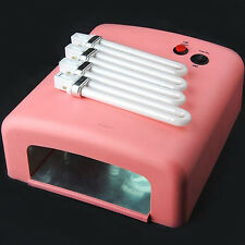 36W LED CCFL Nail Dryer Curing Lamp Machine for UV Nail Art Gel Polish Enticing