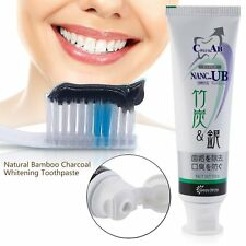 Natural Bamboo Charcoal Anti-halitosis Remove Smoke Stains Oral Toothpaste LK!W