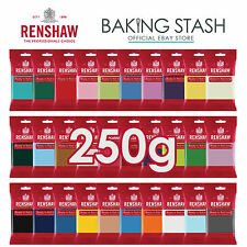 Renshaw - Ready To Roll Fondant Icing Sugarpaste - All Colours - 250g
