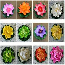 Plastic Real Artificial Lotus Artificial Plants Lotus Decoration Water Lily