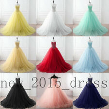Sweetheart Quinceanera Dress Formal Prom Party Pageant Wedding Dresses Ball Gown