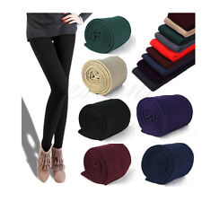 Womens Footless Thick Warm Winter Leggings Slim Skinny Fashion Stretch Pants New
