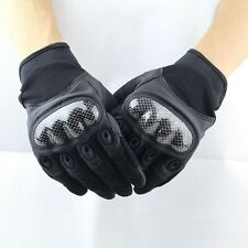 Tactical Gloves Military Outdoor Bicycle Shooting Full(Half) Finger Gloves Black