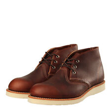 New Mens Red Wing  Chukka 3141 Classic - Briar Oil Slick Leather  100% Leather