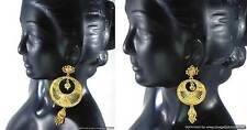 Indian Bollywood Fashion Jewelry Gold Plated Designer Beautiful Earrings set