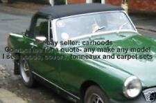 Austin Healey Sprite / MG Midget Mohair Canvas Soft Rag Top Hood Roof - NEW