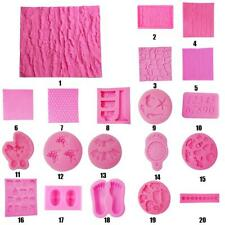 3D Shapes Silicone Cake Soap Sugarcraft Mould Decorating Chocolate DIY Mold