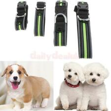 Pet Dog Reflective Collar with Safety Breakaway Buckle Strong Nylon 4 Sizes PICK