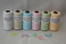 10m Divine Bakers Twine- 6 colours- Ideal for weddings & gift wrapping.