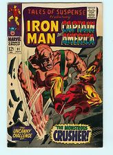 Tales of Suspense 91 7.0 FN/VF Iron Man Captain America Marvel Comics Silver Age
