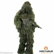 Ghillie Suit Young Adult Full 3D Camo Hunting Kids Teens 3 Piece Jacket Pants
