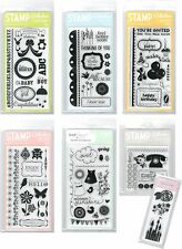 American Crafts Stamp Collection Clear Stamps Birthday Baby *HUGE DISCOUNT* N XS
