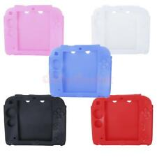 Protective Soft Silicone Rubber Gel Bumper Skin Case Cover for Nintendo 2ds