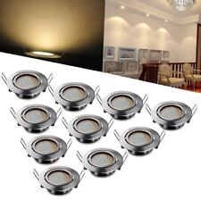 1-10x GU10 68SMD 3.5W 2835LED Recessed SpotLight Downlight Ceiling lamp Lighting