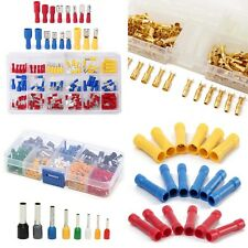 Assorted Heat Shrink Butt Connectors Electrical Wire Crimp Ring Terminals Kit