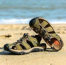 Mens Fisherman Casual closed toe adjustable stylish beach Summer Sandals
