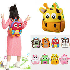 Children Toddler Kid Boy Girl 3D Cartoon Animal Backpack School Bag/Kindergarten