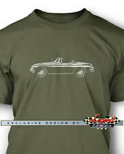 MG MGC Convertible Men T-Shirt - Multiple Colors and Sizes