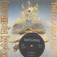 "IRON MAIDEN Clairvoyant 7"" VINYL UK Emi 1988 Limited Edition Clear Vinyl"