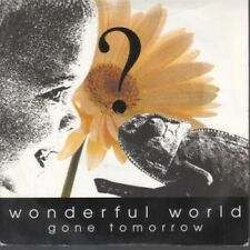 "GONE TOMORROW Wonderful World 7"" VINYL UK Oscar 1994 B/W Right Now (Osca1) Pic"