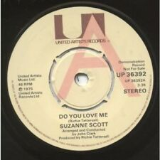 "SUZANNE SCOTT Do You Love Me 7"" VINYL UK United Artists 1975 Demo B/w Why Can't"