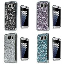 For Samsung Galaxy Note 7 ROCK Rhinestone Bling Crystal Design Hard Cover Case