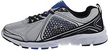 Fila Threshhold 3 Men's Running Shoes Sneakers Metallic Silver/Black/Prince Blue