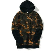 Men Camo Kanye West Hoodie Patchwork Yeezy Off White Style Assassins Creed