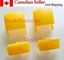 Custom Playstation PS3 Controller Triggers 1 2 Bumper Buttons Yellow From Canada