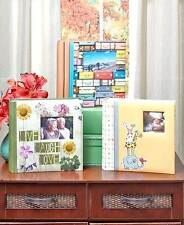200 Picture Photo Album With Memo Space Holds 4 X 6 Photos Travel Baby Memories