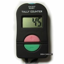 Electronic Digital Tally Counter Hand Counter Clicker Security Sports Gym School