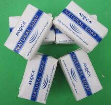 10 X 75g  BAR AVOCA NATURAL BATH SOAP WITH ALOE + SHEA BUTTER WRAPPED  TRAVEL