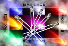 10x 3mm LED round very bright LEDs Resistor 3mm