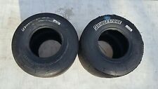 BRIDGESTONE YLR, ROK  7.1/11.0-5  USED GO KART RACING TIRE LOT OF 2 TIRES